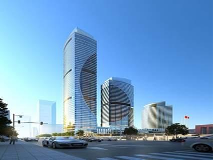 贵旅大厦效果图