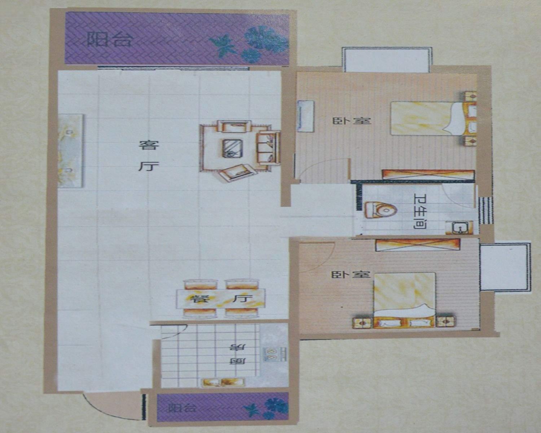 东峰世纪公寓户型图