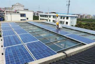 村民花80万楼顶建光伏发电站 称卖电比收房