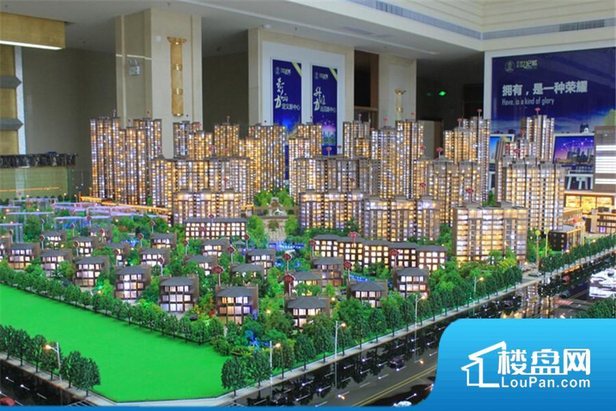百建世纪城实景图