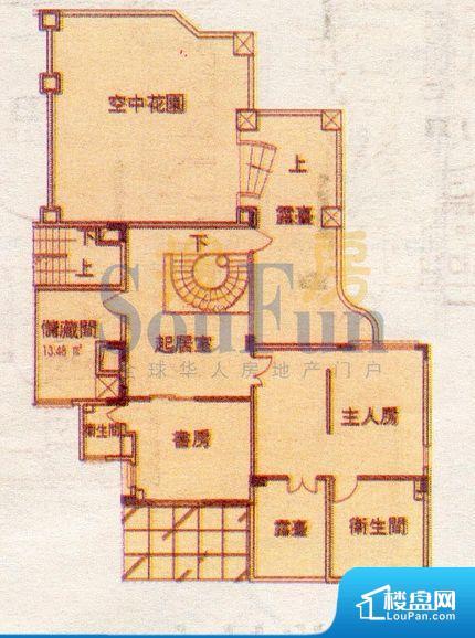 山水庭苑户型图