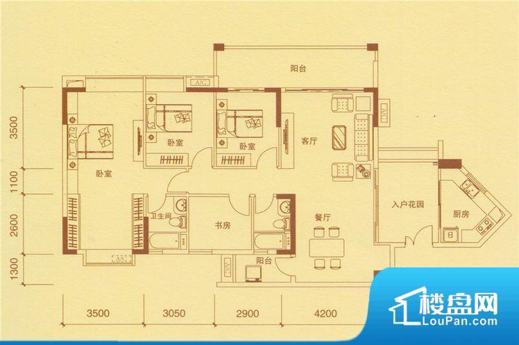 锦东花园户型图