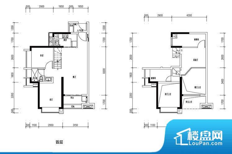 各个空间都很方正,方便后期家具的摆放。无窗类空间略显憋闷,当然此类空前不可能是卧室,一般是衣帽间之类,倒也无所谓。厨卫等重要的使用较为频繁的空间布局合理,方便使用,并且能够保证整个空间的空气质量。客厅、卧室、卫生间和厨房等主要功能间尺寸以及比例合适,方便采光、通风,后期居住方便。