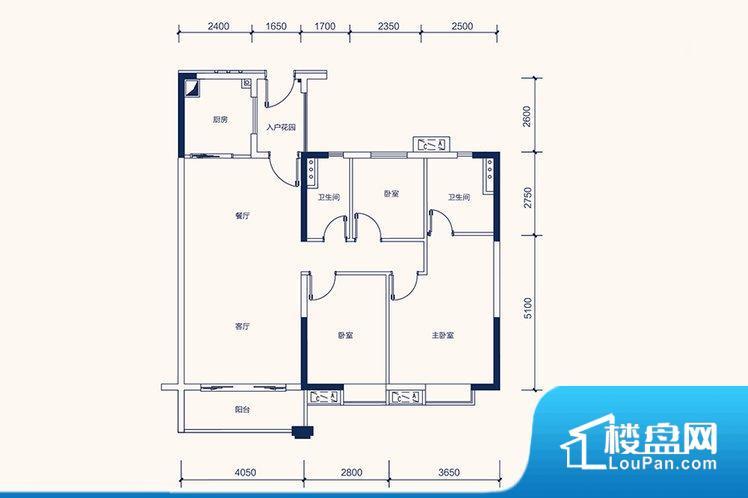 各个空间方正,后期空间利用率高。整个空间采光很好,主卧和客厅均能够保证很好的采光;并且能真正做到全明通透,整个空间空气好。卧室位置合理,能够保证足够安静,客厅的声音不会影响卧室的休息;卫生间位置合理,使用起来动线比较合理;厨房位于门口,方便使用和油烟的排出。各个功能区间面积大小都比较合理,后期使用起来比较方便,居住舒适度高。公摊相对合理,一般房子公摊基本都在此范畴。日常使用基本满足。