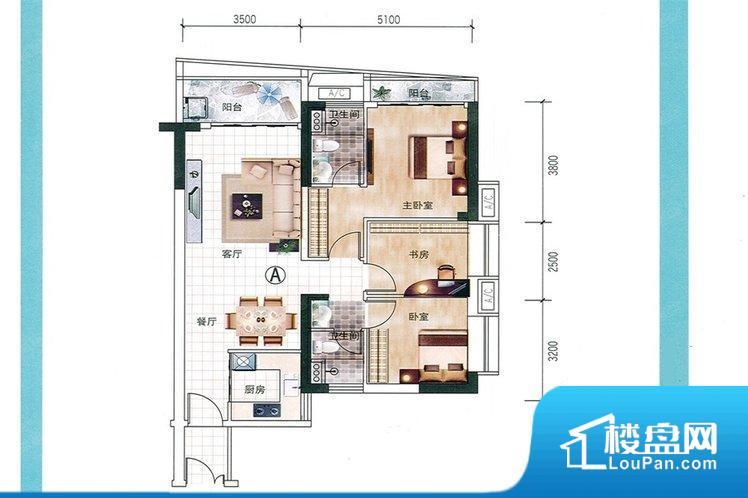 各个空间都很方正,方便后期家具的摆放。全明户型,每一个空间都带有窗户,保证后期居住时能够充分采光和透气;通透户型,保证空气能够流通起来,空气质量较好;采光较好,保证居住舒适度。卫生间门朝向人较多的区域,导致区域空气不好,舒适度差。卧室作为较为重要的休息空间,尺寸合适,有利于主人更好的休息;客厅作为重要的会客空间,尺寸合适,能够保证主人会客需求。卫生间和厨房作为重要的功能区间,尺寸合适,能够很好的满