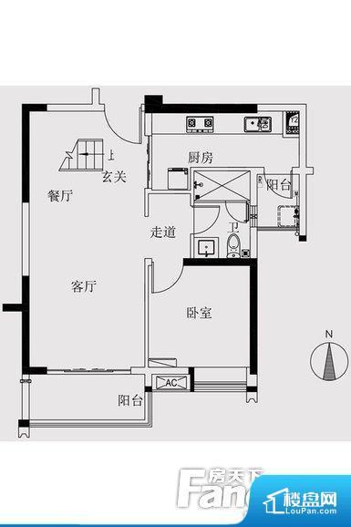 各个空间方正,后期空间利用率高。整个空间采光很好,主卧和客厅均能够保证很好的采光;并且能真正做到全明通透,整个空间空气好。厨卫等重要的使用较为频繁的空间布局合理,方便使用,并且能够保证整个空间的空气质量。卫生间太小,无法正常使用,对后期生活造成很大影响。