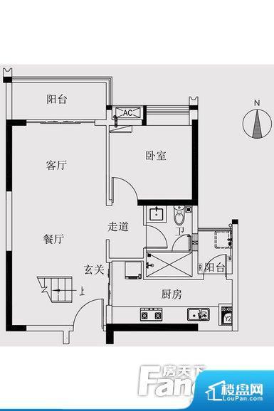 各个空间都很方正,方便后期家具的摆放。重要空间非南向或者东向,不能很好的保证采光,居住舒适度不高。整个户型空间布局合理,真正做到了干湿分离、动静分离,方便后期生活。各个功能区间面积大小都比较合理,后期使用起来比较方便,居住舒适度高。