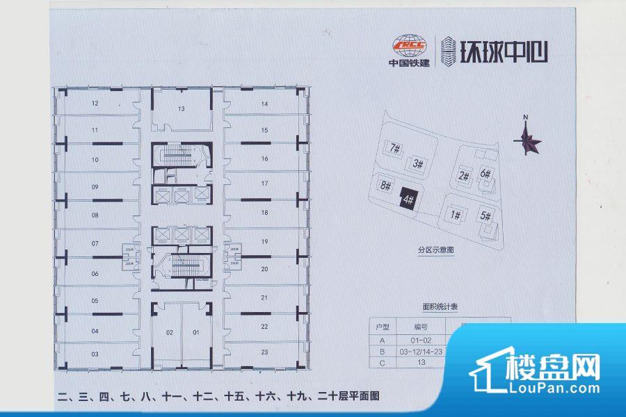 中国铁建·环球中心(商用)实景图