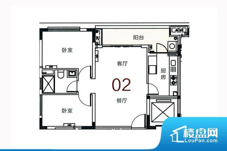 整个空间方正,拐角少,后期利用难度低,提升整个空间的利用率。全明户型,每一个空间都带有窗户,保证后期居住时能够充分采光和透气;通透户型,保证空气能够流通起来,空气质量较好;采光较好,保证居住舒适度。厨房在整个空间比较深的位置,一方面使用不便,另一方面使用时油烟对整个家里的空气影响较大各个功能区间面积大小都比较合理,后期使用起来比较方便,居住舒适度高。公摊相对合理,一般房子公摊基本都在此范畴。日常使