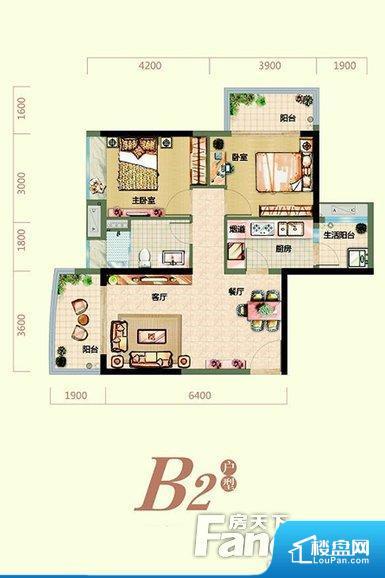 各个空间方正,后期空间利用率高。全明通透的户型,居住舒适度较高。整个空间有充足的采光,这一点对于后期居住,尤其重要。厨卫等重要的使用较为频繁的空间布局合理,方便使用,并且能够保证整个空间的空气质量。卧室作为较为重要的休息空间,尺寸合适,有利于主人更好的休息;客厅作为重要的会客空间,尺寸合适,能够保证主人会客需求。卫生间和厨房作为重要的功能区间,尺寸合适,能够很好的满足主人生活需求。公摊相对合理,一