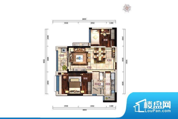 各个空间方正,后期空间利用率高。整个空间采光很好,主卧和客厅均能够保证很好的采光;并且能真正做到全明通透,整个空间空气好。卧室位置合理,能够保证足够安静,客厅的声音不会影响卧室的休息;卫生间位置合理,使用起来动线比较合理;厨房位于门口,方便使用和油烟的排出。卧室作为较为重要的休息空间,尺寸合适,有利于主人更好的休息;客厅作为重要的会客空间,尺寸合适,能够保证主人会客需求。卫生间和厨房作为重要的功能
