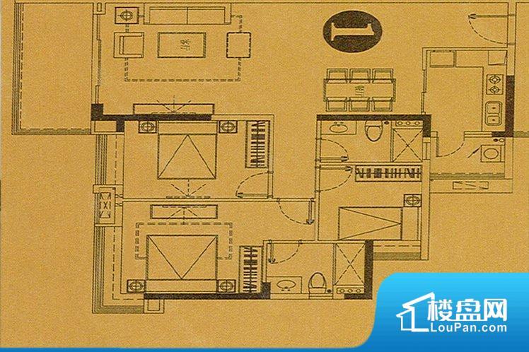 各个空间方正,后期空间利用率高。整个空间采光很好,主卧和客厅均能够保证很好的采光;并且能真正做到全明通透,整个空间空气好。厨卫等重要的使用较为频繁的空间布局合理,方便使用,并且能够保证整个空间的空气质量。各个功能区间面积大小都比较合理,后期使用起来比较方便,居住舒适度高。公摊相对合理,一般房子公摊基本都在此范畴。日常使用基本满足。