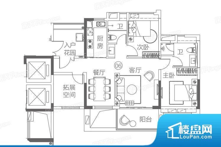 整个空间方正,拐角少,后期利用难度低,提升整个空间的利用率。全明通透的户型,居住舒适度较高。整个空间有充足的采光,这一点对于后期居住,尤其重要。卧室位置合理,能够保证足够安静,客厅的声音不会影响卧室的休息;卫生间位置合理,使用起来动线比较合理;厨房位于门口,方便使用和油烟的排出。各个功能区间面积大小都比较合理,后期使用起来比较方便,居住舒适度高。公摊相对合理,一般房子公摊基本都在此范畴。日常使用基
