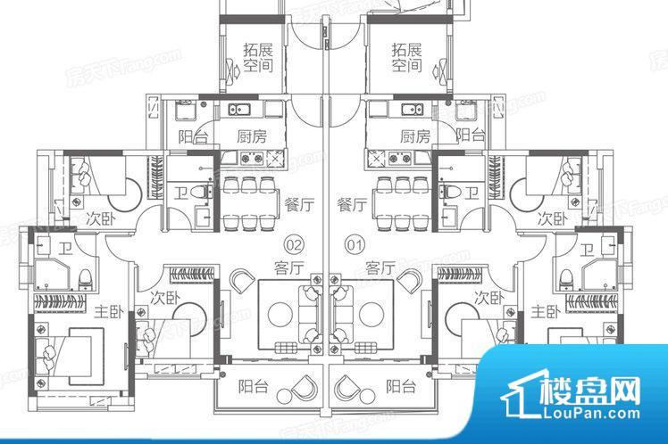 各个空间都很方正,方便后期家具的摆放。全明户型,每一个空间都带有窗户,保证后期居住时能够充分采光和透气;通透户型,保证空气能够流通起来,空气质量较好;采光较好,保证居住舒适度。整个户型空间布局合理,真正做到了干湿分离、动静分离,方便后期生活。客厅、卧室、卫生间和厨房等主要功能间尺寸以及比例合适,方便采光、通风,后期居住方便。