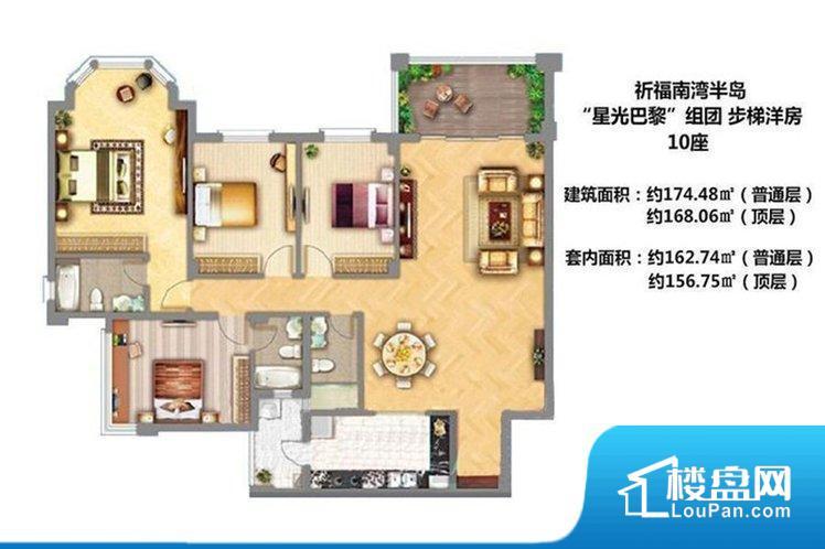 各个空间都很方正,方便后期家具的摆放。整个空间采光很好,主卧和客厅均能够保证很好的采光;并且能真正做到全明通透,整个空间空气好。整个户型空间布局合理,真正做到了干湿分离、动静分离,方便后期生活。客厅、卧室、卫生间和厨房等主要功能间尺寸以及比例合适,方便采光、通风,后期居住方便。公摊高于15%且低于25%,整体得房率不算太高。