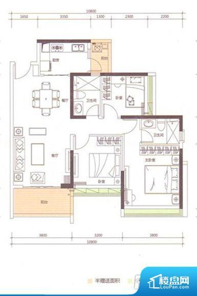 拐角较多的话,不方便家具的摆放,浪费面积。全明通透的户型,居住舒适度较高。整个空间有充足的采光,这一点对于后期居住,尤其重要。卫生间门朝向人较多的区域,导致区域空气不好,舒适度差。卧室作为较为重要的休息空间,尺寸合适,有利于主人更好的休息;客厅作为重要的会客空间,尺寸合适,能够保证主人会客需求。卫生间和厨房作为重要的功能区间,尺寸合适,能够很好的满足主人生活需求。
