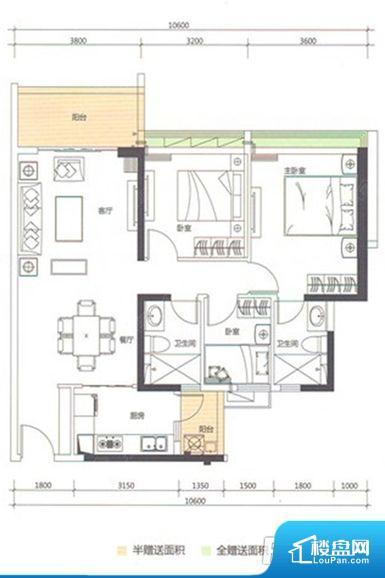 各个空间都很方正,方便后期家具的摆放。非南向或东向,采光不足,西面下午为西晒,夏天时西晒阳光比较热,室内温度变高。北向的下午采光不足,室内需要开灯补光。卧室位置合理,能够保证足够安静,客厅的声音不会影响卧室的休息;卫生间位置合理,使用起来动线比较合理;厨房位于门口,方便使用和油烟的排出。客厅、卧室、卫生间和厨房等主要功能间尺寸以及比例合适,方便采光、通风,后期居住方便。