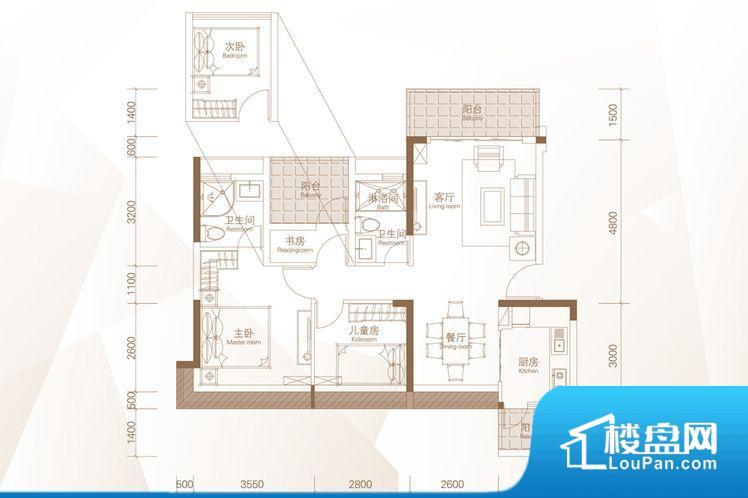 各个空间都很方正,方便后期家具的摆放。重要空间非南向或者东向,不能很好的保证采光,居住舒适度不高。厨卫等重要的使用较为频繁的空间布局合理,方便使用,并且能够保证整个空间的空气质量。各个功能区间面积大小都比较合理,后期使用起来比较方便,居住舒适度高。