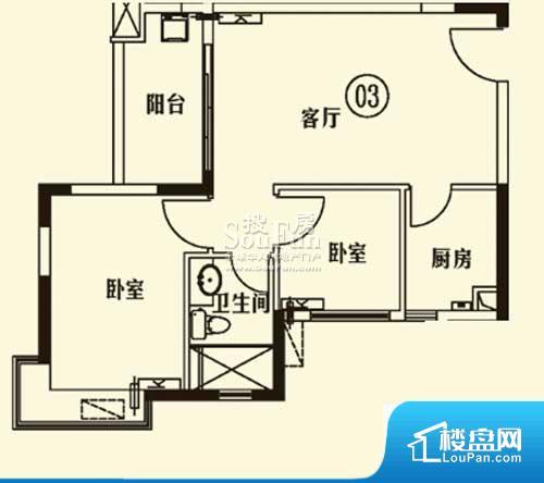 各个空间都很方正,方便后期家具的摆放。重要空间非南向或者东向,不能很好的保证采光,居住舒适度不高。卧室位置合理,能够保证足够安静,客厅的声音不会影响卧室的休息;卫生间位置合理,使用起来动线比较合理;厨房位于门口,方便使用和油烟的排出。各个功能区间面积大小都比较合理,后期使用起来比较方便,居住舒适度高。公摊相对合理,一般房子公摊基本都在此范畴。日常使用基本满足。