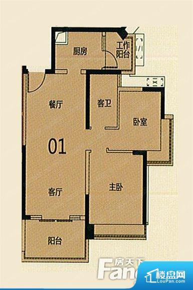 各个空间方正,后期空间利用率高。整个空间采光很好,主卧和客厅均能够保证很好的采光;并且能真正做到全明通透,整个空间空气好。卫生间门朝向人较多的区域,导致区域空气不好,舒适度差。各个功能区间面积大小都比较合理,后期使用起来比较方便,居住舒适度高。公摊低于15%,得房率高;但是由于公摊太低,小区内基本设施可能很难保证。