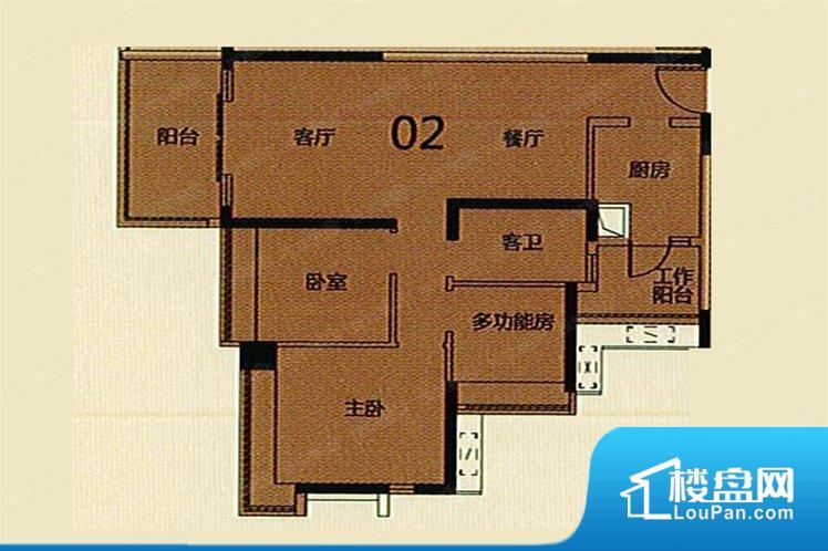 各个空间方正,后期空间利用率高。全明通透的户型,居住舒适度较高。整个空间有充足的采光,这一点对于后期居住,尤其重要。卫生间朝向客厅私密性较差,卫生间朝向餐厅产生的气味及细菌对餐厅影响较大,卫生间朝向卧室,产生的气味对卧室有影响。客厅、卧室、卫生间和厨房等主要功能间尺寸以及比例合适,方便采光、通风,后期居住方便。公摊高于15%且低于25%,整体得房率不算太高。