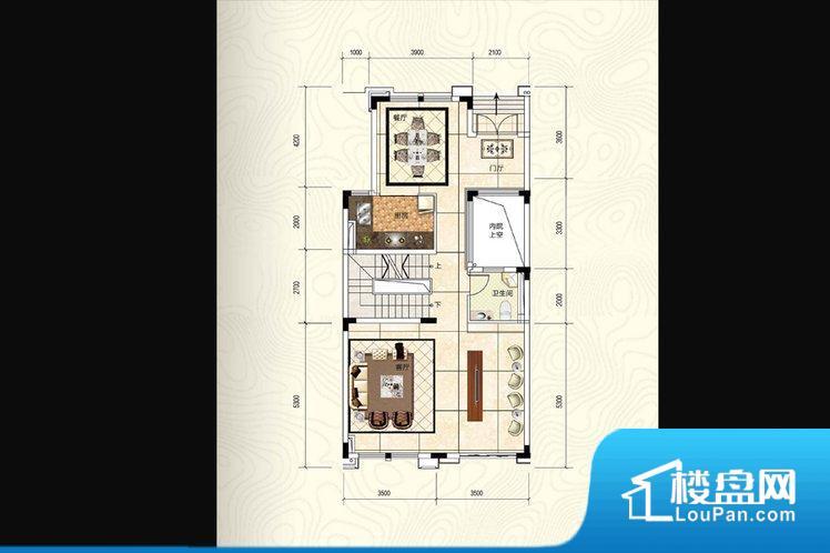 各个空间都很方正,方便后期家具的摆放。整个空间采光很好,主卧和客厅均能够保证很好的采光;并且能真正做到全明通透,整个空间空气好。厨卫等重要的使用较为频繁的空间布局合理,方便使用,并且能够保证整个空间的空气质量。厨房太小,无法正常使用,后期居住起来存在很大的不便。