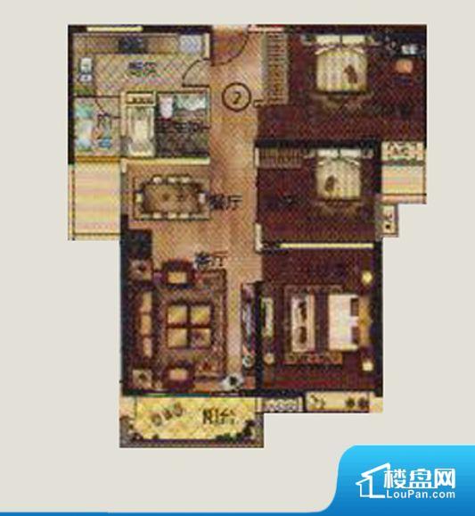 各个空间方正,后期空间利用率高。全明通透的户型,居住舒适度较高。整个空间有充足的采光,这一点对于后期居住,尤其重要。整个户型空间布局合理,真正做到了干湿分离、动静分离,方便后期生活。卧室作为较为重要的休息空间,尺寸合适,有利于主人更好的休息;客厅作为重要的会客空间,尺寸合适,能够保证主人会客需求。卫生间和厨房作为重要的功能区间,尺寸合适,能够很好的满足主人生活需求。公摊相对合理,一般房子公摊基本都