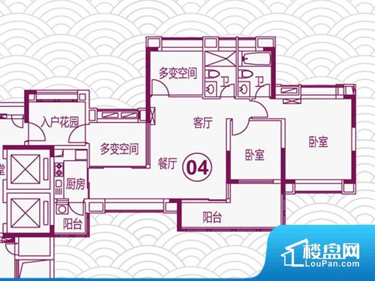 各个空间都很方正,方便后期家具的摆放。全明通透的户型,居住舒适度较高。整个空间有充足的采光,这一点对于后期居住,尤其重要。主人去卫生间要传堂入室,整个动线过长,使用起来不方便。卧室门朝向比较吵闹的区域,不利于主人休息。卫生间门朝向人较多的区域,导致区域空气不好,舒适度差。客厅、卧室、卫生间和厨房等主要功能间尺寸以及比例合适,方便采光、通风,后期居住方便。公摊相对合理,一般房子公摊基本都在此范畴。日