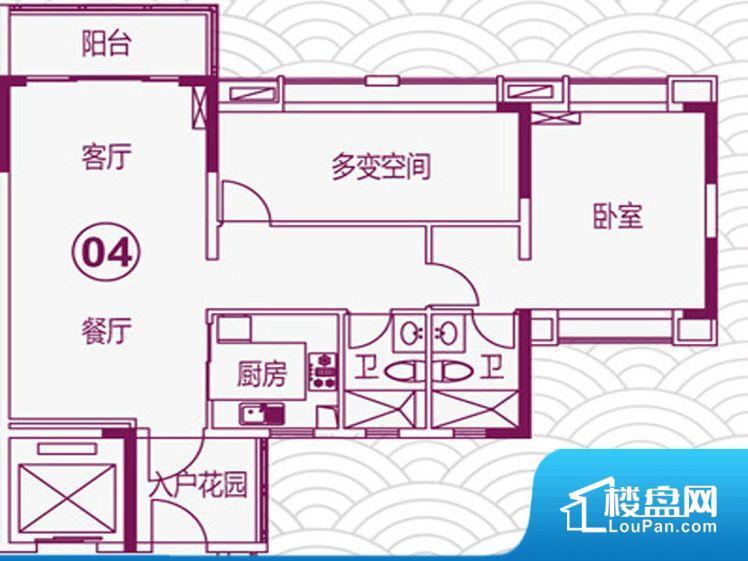 各个空间方正,后期空间利用率高。全明通透的户型,居住舒适度较高。整个空间有充足的采光,这一点对于后期居住,尤其重要。卫生间门朝向人较多的区域,导致区域空气不好,舒适度差。卧室作为较为重要的休息空间,尺寸合适,有利于主人更好的休息;客厅作为重要的会客空间,尺寸合适,能够保证主人会客需求。卫生间和厨房作为重要的功能区间,尺寸合适,能够很好的满足主人生活需求。公摊高于15%且低于25%,整体得房率不算太