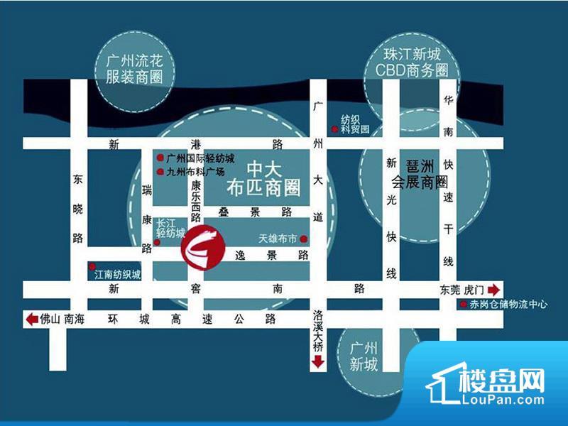 珠江国际公馆位置图