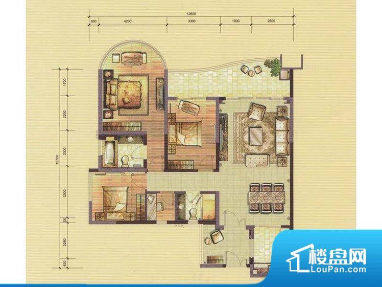 作为整个家里比较重要的空间,不方正,不利于后期家具的摆放,使用率不高。全明户型,每一个空间都带有窗户,保证后期居住时能够充分采光和透气;通透户型,保证空气能够流通起来,空气质量较好;采光较好,保证居住舒适度。卧室位置合理,能够保证足够安静,客厅的声音不会影响卧室的休息;卫生间位置合理,使用起来动线比较合理;厨房位于门口,方便使用和油烟的排出。客厅、卧室、卫生间和厨房等主要功能间尺寸以及比例合适,方