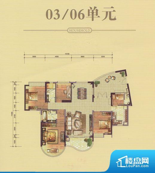 珠江帝景·紫龙府户型图