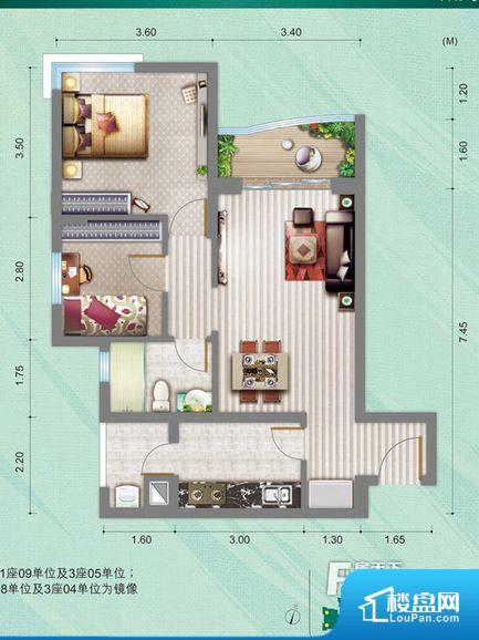 各个空间都很方正,方便后期家具的摆放。全明通透的户型,居住舒适度较高。整个空间有充足的采光,这一点对于后期居住,尤其重要。卫生间门朝向人较多的区域,导致区域空气不好,舒适度差。客厅、卧室、卫生间和厨房等主要功能间尺寸以及比例合适,方便采光、通风,后期居住方便。