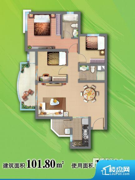 次重要空间不够方正,家具不好摆放,而且容易浪费空间。全明户型,每一个空间都带有窗户,保证后期居住时能够充分采光和透气;通透户型,保证空气能够流通起来,空气质量较好;采光较好,保证居住舒适度。卧室门朝向客厅,外人可以一目了然的看到卧室,私密性较差。各个功能区间面积大小都比较合理,后期使用起来比较方便,居住舒适度高。