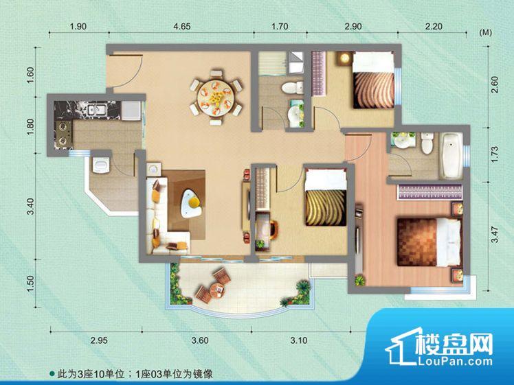 拐角较多的话,不方便家具的摆放,浪费面积。全明户型,每一个空间都带有窗户,保证后期居住时能够充分采光和透气;通透户型,保证空气能够流通起来,空气质量较好;采光较好,保证居住舒适度。卧室是休息的地方,需要安静,如果距离客厅和餐厅会有噪音,影响休息。时间长,主人容易神经衰弱。卫生间门朝向人较多的区域,导致区域空气不好,舒适度差。各个功能区间面积大小都比较合理,后期使用起来比较方便,居住舒适度高。