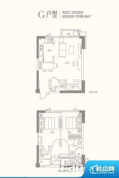 各个空间方正,后期空间利用率高。重要空间非南向或者东向,不能很好的保证采光,居住舒适度不高。卧室位置合理,能够保证足够安静,客厅的声音不会影响卧室的休息;卫生间位置合理,使用起来动线比较合理;厨房位于门口,方便使用和油烟的排出。各个功能区间面积大小都比较合理,后期使用起来比较方便,居住舒适度高。公摊相对合理,一般房子公摊基本都在此范畴。日常使用基本满足。