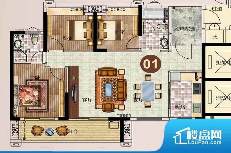 整个空间方正,拐角少,后期利用难度低,提升整个空间的利用率。全明户型,每一个空间都带有窗户,保证后期居住时能够充分采光和透气;通透户型,保证空气能够流通起来,空气质量较好;采光较好,保证居住舒适度。卧室位置合理,能够保证足够安静,客厅的声音不会影响卧室的休息;卫生间位置合理,使用起来动线比较合理;厨房位于门口,方便使用和油烟的排出。各个功能区间面积大小都比较合理,后期使用起来比较方便,居住舒适度高