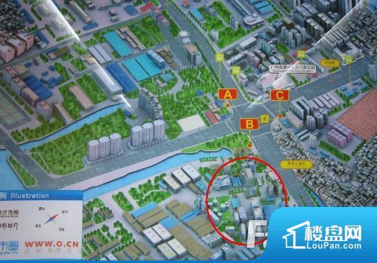 油脂化工厂地块效果图