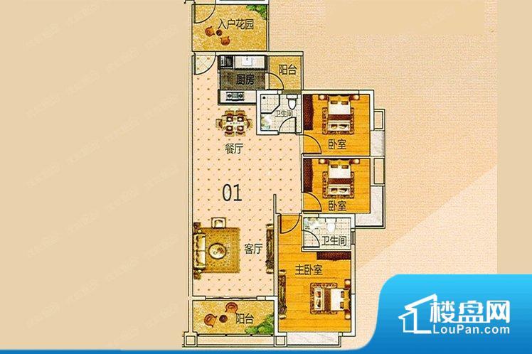各个空间方正,后期空间利用率高。全明通透的户型,居住舒适度较高。整个空间有充足的采光,这一点对于后期居住,尤其重要。卫生间门朝向人较多的区域,导致区域空气不好,舒适度差。客厅、卧室、卫生间和厨房等主要功能间尺寸以及比例合适,方便采光、通风,后期居住方便。公摊高于15%且低于25%,整体得房率不算太高。