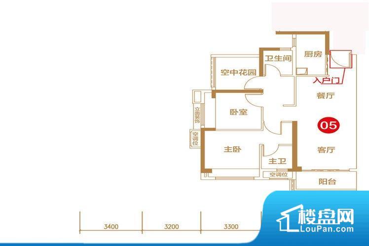 各个空间方正,后期空间利用率高。不通风,南方会非常潮湿,特别是在雨季。而北方干燥会加重干燥的情况。卧室位置合理,能够保证足够安静,客厅的声音不会影响卧室的休息;卫生间位置合理,使用起来动线比较合理;厨房位于门口,方便使用和油烟的排出。客厅、卧室、卫生间和厨房等主要功能间尺寸以及比例合适,方便采光、通风,后期居住方便。
