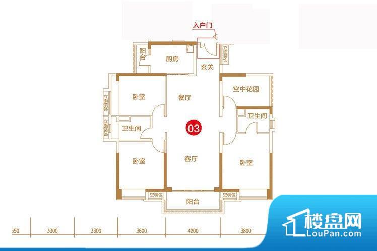 各个空间都很方正,方便后期家具的摆放。整个空间采光很好,主卧和客厅均能够保证很好的采光;并且能真正做到全明通透,整个空间空气好。卧室位置合理,能够保证足够安静,客厅的声音不会影响卧室的休息;卫生间位置合理,使用起来动线比较合理;厨房位于门口,方便使用和油烟的排出。客厅、卧室、卫生间和厨房等主要功能间尺寸以及比例合适,方便采光、通风,后期居住方便。公摊相对合理,一般房子公摊基本都在此范畴。日常使用基