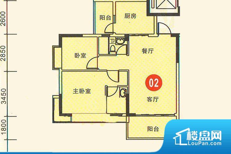 各个空间方正,后期空间利用率高。整个空间采光很好,主卧和客厅均能够保证很好的采光;并且能真正做到全明通透,整个空间空气好。卫生间朝向客厅私密性较差,卫生间朝向餐厅产生的气味及细菌对餐厅影响较大,卫生间朝向卧室,产生的气味对卧室有影响。客厅、卧室、卫生间和厨房等主要功能间尺寸以及比例合适,方便采光、通风,后期居住方便。公摊相对合理,一般房子公摊基本都在此范畴。日常使用基本满足。