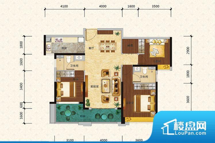 各个空间方正,后期空间利用率高。整个空间采光很好,主卧和客厅均能够保证很好的采光;并且能真正做到全明通透,整个空间空气好。卫生间门朝向人较多的区域,导致区域空气不好,舒适度差。卧室作为较为重要的休息空间,尺寸合适,有利于主人更好的休息;客厅作为重要的会客空间,尺寸合适,能够保证主人会客需求。卫生间和厨房作为重要的功能区间,尺寸合适,能够很好的满足主人生活需求。公摊高于15%且低于25%,整体得房率