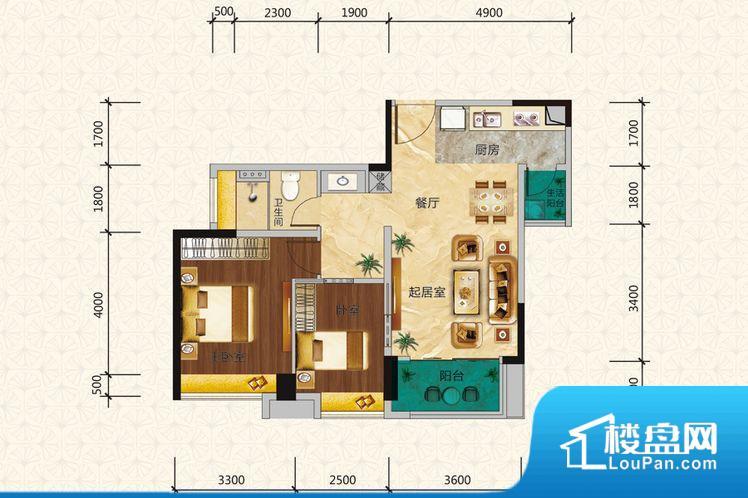 各个空间都很方正,方便后期家具的摆放。整个空间采光很好,主卧和客厅均能够保证很好的采光;并且能真正做到全明通透,整个空间空气好。卧室位置合理,能够保证足够安静,客厅的声音不会影响卧室的休息;卫生间位置合理,使用起来动线比较合理;厨房位于门口,方便使用和油烟的排出。客厅、卧室、卫生间和厨房等主要功能间尺寸以及比例合适,方便采光、通风,后期居住方便。公摊高于15%且低于25%,整体得房率不算太高。