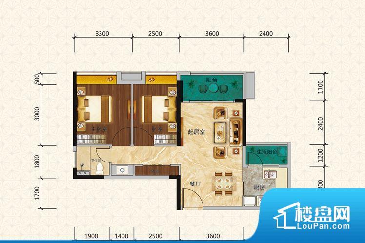 次重要空间不够方正,家具不好摆放,而且容易浪费空间。全明户型,每一个空间都带有窗户,保证后期居住时能够充分采光和透气;通透户型,保证空气能够流通起来,空气质量较好;采光较好,保证居住舒适度。厨卫等重要的使用较为频繁的空间布局合理,方便使用,并且能够保证整个空间的空气质量。客厅、卧室、卫生间和厨房等主要功能间尺寸以及比例合适,方便采光、通风,后期居住方便。公摊相对合理,一般房子公摊基本都在此范畴。日