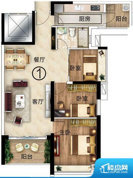 拐角较多的话,不方便家具的摆放,浪费面积。整个空间采光很好,主卧和客厅均能够保证很好的采光;并且能真正做到全明通透,整个空间空气好。卧室门朝向客厅,外人可以一目了然的看到卧室,私密性较差。客厅、卧室、卫生间和厨房等主要功能间尺寸以及比例合适,方便采光、通风,后期居住方便。