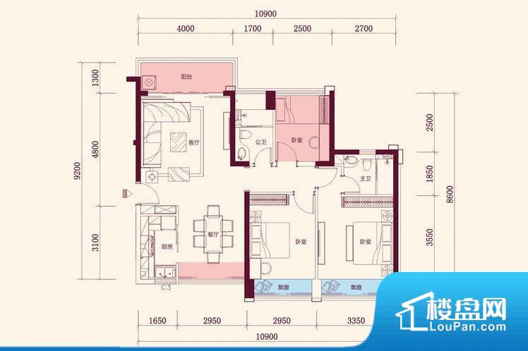 整个空间方正,拐角少,后期利用难度低,提升整个空间的利用率。全明通透的户型,居住舒适度较高。整个空间有充足的采光,这一点对于后期居住,尤其重要。各个功能区间面积大小都比较合理,后期使用起来比较方便,居住舒适度高。公摊相对合理,一般房子公摊基本都在此范畴。日常使用基本满足。