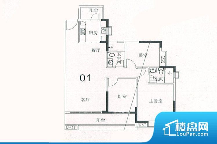 各个空间方正,后期空间利用率高。全明户型,每一个空间都带有窗户,保证后期居住时能够充分采光和透气;通透户型,保证空气能够流通起来,空气质量较好;采光较好,保证居住舒适度。厨房门朝向客厅,做饭时油烟对客厅影响较大。卧室作为较为重要的休息空间,尺寸合适,有利于主人更好的休息;客厅作为重要的会客空间,尺寸合适,能够保证主人会客需求。卫生间和厨房作为重要的功能区间,尺寸合适,能够很好的满足主人生活需求。公