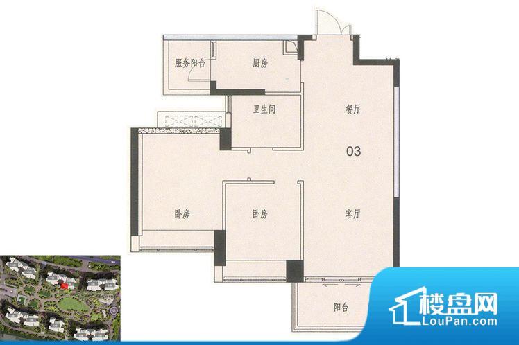 整个空间方正,拐角少,后期利用难度低,提升整个空间的利用率。客厅、卧室、卫生间和厨房等主要功能间尺寸以及比例合适,方便采光、通风,后期居住方便。