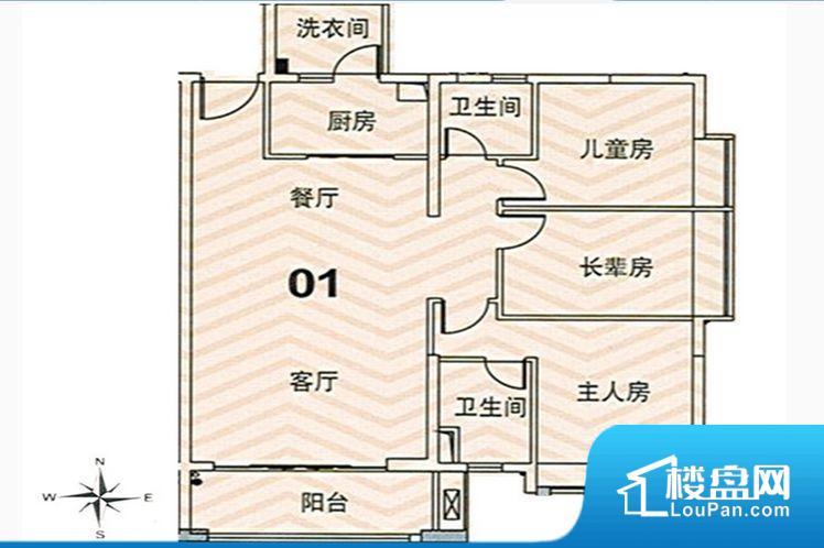整个空间方正,拐角少,后期利用难度低,提升整个空间的利用率。整个空间采光很好,主卧和客厅均能够保证很好的采光;并且能真正做到全明通透,整个空间空气好。卧室门朝向比较吵闹的区域,不利于主人休息。厨房门对着客厅会有油烟方面的困扰,不过通风好也可以忽略。小区内公共设施可能存在不完善的情况,需要综合考虑后再做出是否购买的决定。